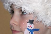 Facepainting Christmas