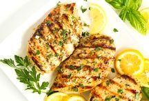 Grilled Lemon Basil Chicken Recipe