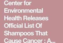Danger shampoos