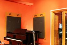 Bressie's Studio Makeover / We were delighted to work alongside Bressie and help him re-decorate his new music studio. Here are some before and after pictures!