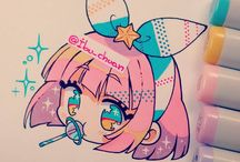 Cute / Pastel / Cute or Pastel things I can use to draw