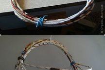 Pletení z papíru / náměty,inspirace