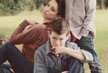 shooting photo single mom 2 kids