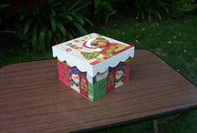 cajas navideñas