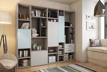 Librerías / Librerías para todo tu hogar. Una infinidad de formas y acabados para tu librería.