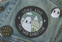 Enamel Pins & Patches / Add some kawaii flair with the cutest enamel pins and iron patches