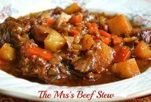 Stews / The Mrs Beef Stew
