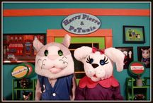 Humor  / Children's Characters Harry Pierre & PeTunia Puddlesworth enjoy laughing, sharing and helping children be the best they can be!