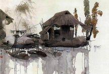 Akvarel:Chan Yuk Lin