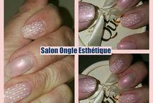 Gelnails and nailart by Salon Ongle Esthétique