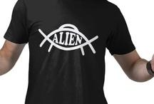 "Funny Alien and UFO T-shirts / Goodtogotees.com Funny alien and ufo t-shirts.  Do you ""believe""?"