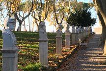 Statues et tableaux à Rome / Photos de statues et de tableaux prises lors d'une visite
