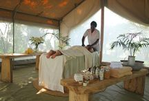 A Day at the Spa /  Guests also enjoy complementary head and neck massages the evening they arrive to give them a taste of the delights of the spa.