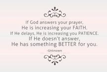 Believe in Him & His word! / by Alissa's Mommy