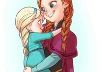 anna,elsa and the other