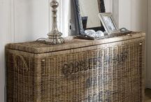 Never Pass Up A Basket / I love baskets of any kind. My favorites are handmade, vintage & old cotton picking baskets!