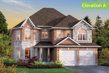 Windsor Home Design / Single Home  3015 square feet  4 or 5 Bedrooms