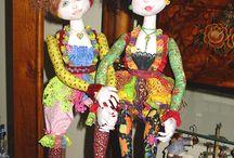 My Wayward Muse / Art Dolls