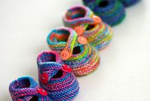 Fiber, Knitting, and Crochet ideas / by Crystal Ziegler