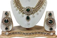Kundan Polki Indian Bollywood Jewelry