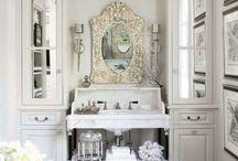 DESIRED BATHROOMS / by Vicki Wronski