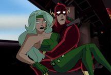 Justice League Unlimited , Batman , Young Justice League etc.
