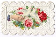 Retro/Vintage Valentine Graphics / by Sherri
