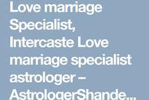 Intercaste love marriage specialist astrologershandeleyji