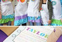 junior high girls - dorm party