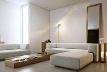Sofa, stolik, prostota