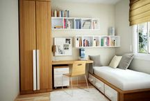 Small space bedrooms