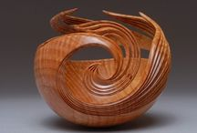 Art Wood Sculptures / Art using wood / by Martha Smith Ⓥ