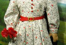 Doll-American girl -30-40-50's