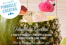 Pinnacle® Vodka Pineapple Vodka / Turn your summertime BBQ into a tropical tiki lounge with these magical tricks. With over 40 playful flavors, we've got just what you need to turn any backyard party into a summertime soiree. Try these cocktail recipes made with Pinnacle® Vodka Pineapple .