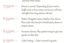 Wedding Day Timeline / by Nicole Penn