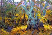 """The Creeks and Rivers of Silicon Valley, Studio Editions / Studio editions of plein air paintings created during Donald Neff's year long quest to paint """"The Creeks and Rivers of Silicon Valley""""."""