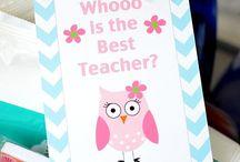 Teacher Gift Ideas / by Crystal Adams
