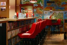 book cafe/ library / studio
