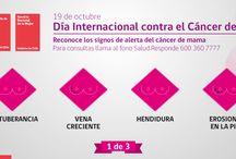 Todas y todos contra el Cáncer de Mama / Consejos para detectar el cáncer de mama