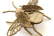 Designed by..... / Innovative products created using the Laser Cutter