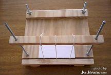 Ferramentas (Tools) / Ferramentas que eu uso para fazer os livros e cadernos. Tools I use to make the books and notebooks.