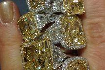 Gele diamanten ringen