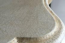 Crackle glaze furniture