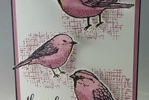 Best Birds stamps n dies