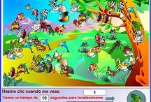 Juegos educativos on line / El juego es una buena ayuda para desarrollar habilidades