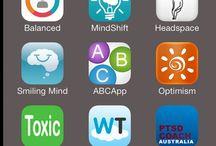 Mental health apps / Mental health apps, self-care apps, wellness apps, and de-stressing apps pinned by Sharon Martin, LCSW at www.sharonmartincounseling.com