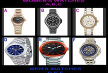 DESIGNER WATCH WEDNESDAY / Tonight @OneCentChic at 10 PM ET Watches for Women AND Men