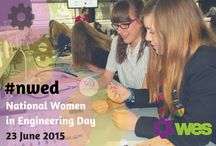 #nwed / National Women in Engineering Day 23 June was a huge success with organisations, schools, colleges, universities, industry bodies and individual engineers all over the world uniting in the name of equality and diversity to celebrate the great achievements of women engineers and encourage more girls and women to consider engineering as a career - Check out all the amazing pictures from the event! www.nwed.org.uk