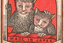 Matchbox, Miniatures and Postcards / I've just always enjoyed stamp, postcards and matchbox ephemera. / by Ellen Springer