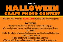 Halloween Craft Photo Contest 2014 / Don't forget to enter our Halloween Craft Contest! Post your craft photo to our Facebook wall and we will add it to our Halloween Contest '14! The person with the most likes wins :) / by JAM Paper